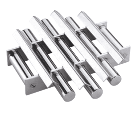 Magnetic Grate with 90 angular baffles