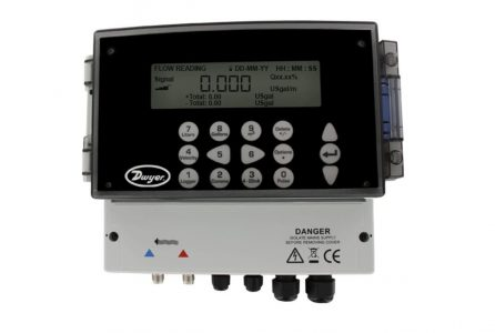 Dwyer UFB Series Ultrasonic Flow Transmitter Set