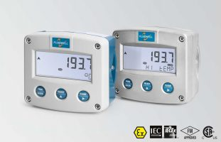 Fluidwell F043 Temperature Monitor with one high / low alarm output