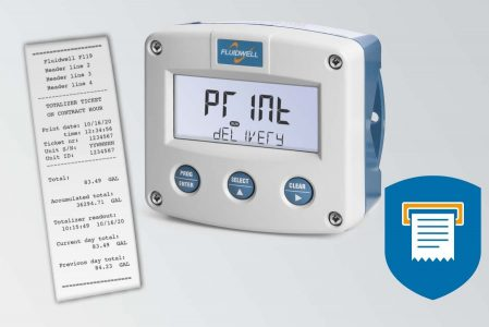 Fluidwell F112 Flow Rate Indicator/Totalizer