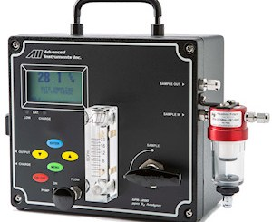 Analytical Industries Portable Oxygen Analyzers for Purity Measurements