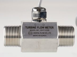 Digital Flow DGTT-015S Turbine Flow Meter