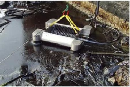 Disc Oil Skimmer High Capacity With Power Pack