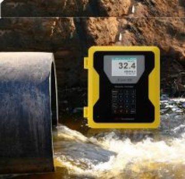 ultrasonic sewer pipe flow meter