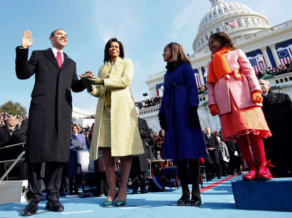 Barack Obama sworn in as US President
