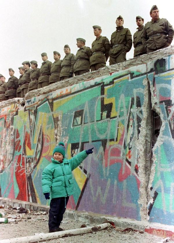 West Germany Berlin Wall