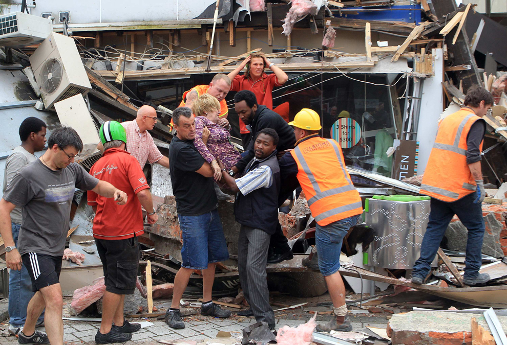 Woman Pulled From Christchurch's Rubble