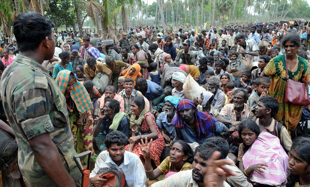 Uchodzcy na Sri Lance
