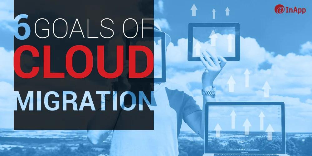 6 Goals of Cloud Migration