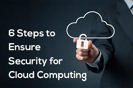 6 Steps to Ensure Security for Cloud Computing