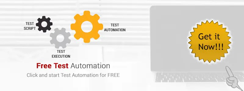 Try out our Free Test Automation!
