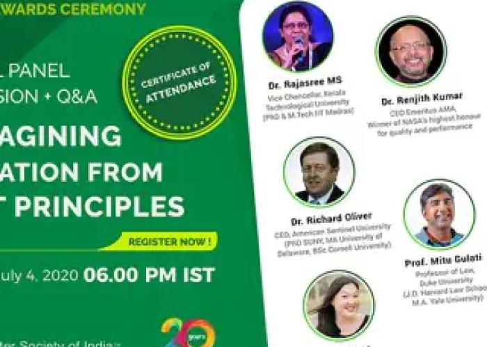 Virtual Panel Discussion on Reimagining Education F