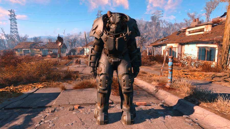Power Armor X-01 i Fallout 4
