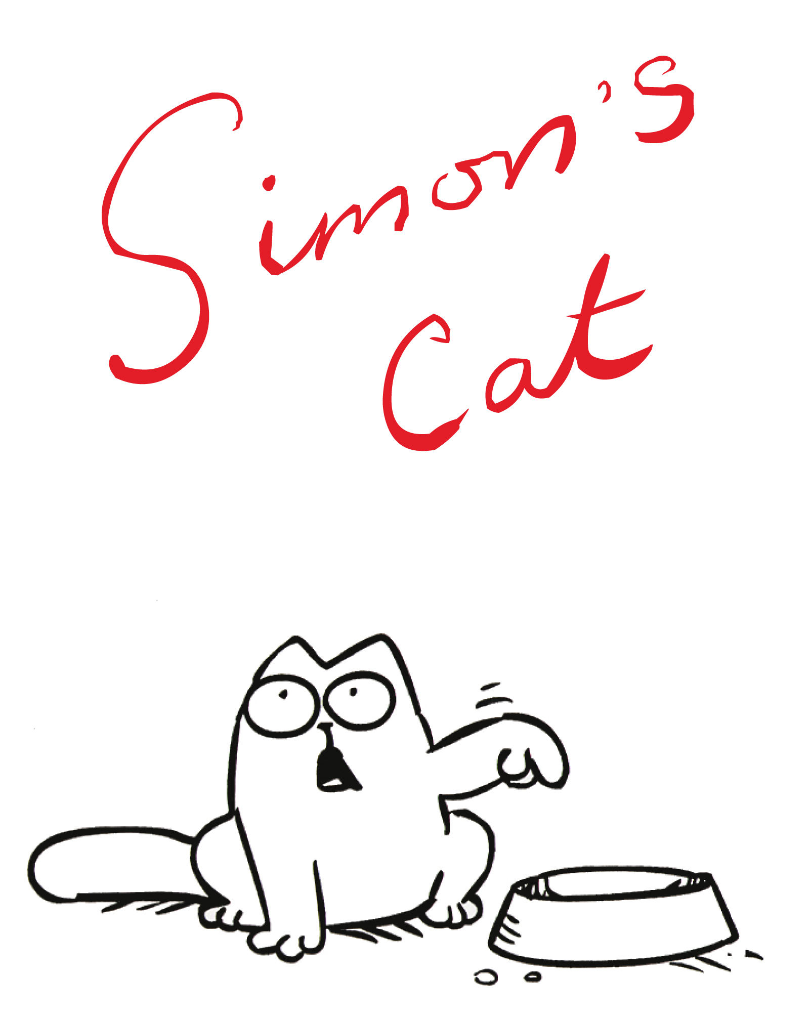 Research Of Lineart Simon's Cat  In A Sea Of Cucumbers
