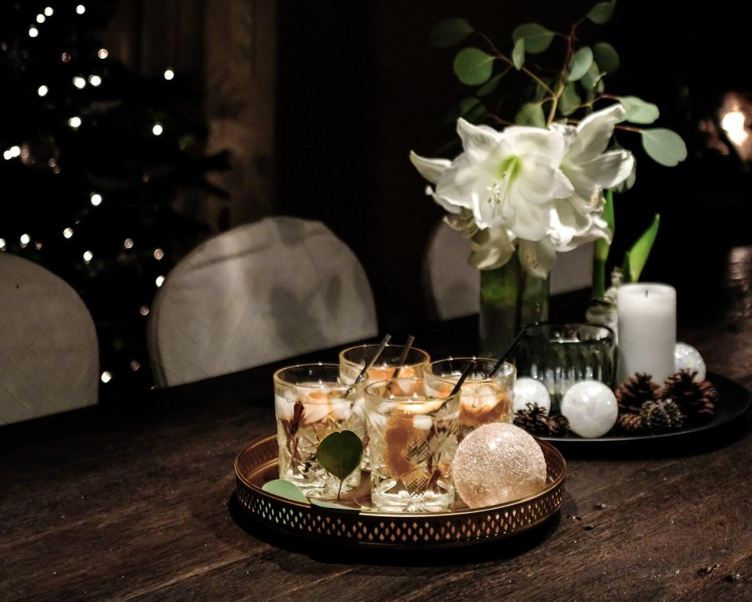 inastil christmastime Weihnachtszeit Partyoutfit Cocktail Gin Cocktailtime GincocktailDSCF2345