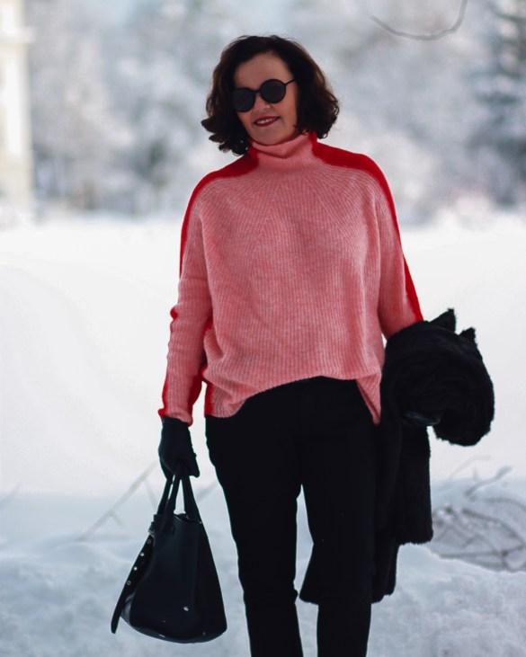 inastil, fashion, Wntermode, Leopoldskron, Salzburg, livingcoral, pantone, rosen, rosa, Pullover, Ü50Mode, ageless, ü50blogger,_-9