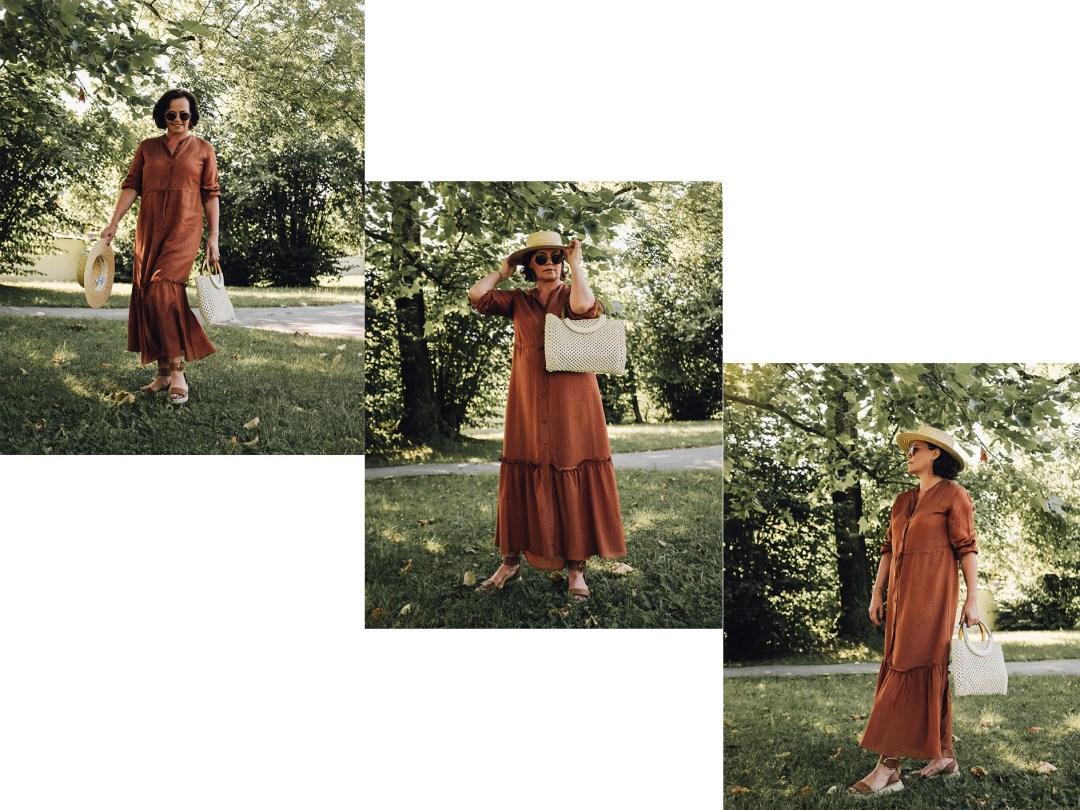 braunes Kleid1