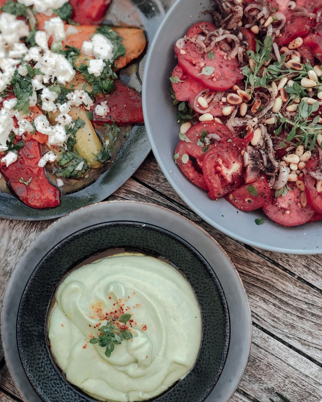 inastil, Tomaten, Tomatoes, Tomatensalat, Vorspeise, Antipasti, Tomatenernte, Sumach-3