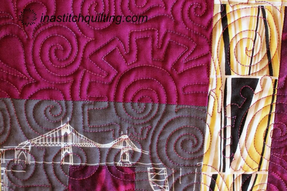 Miss M Quilt Stitch Sample