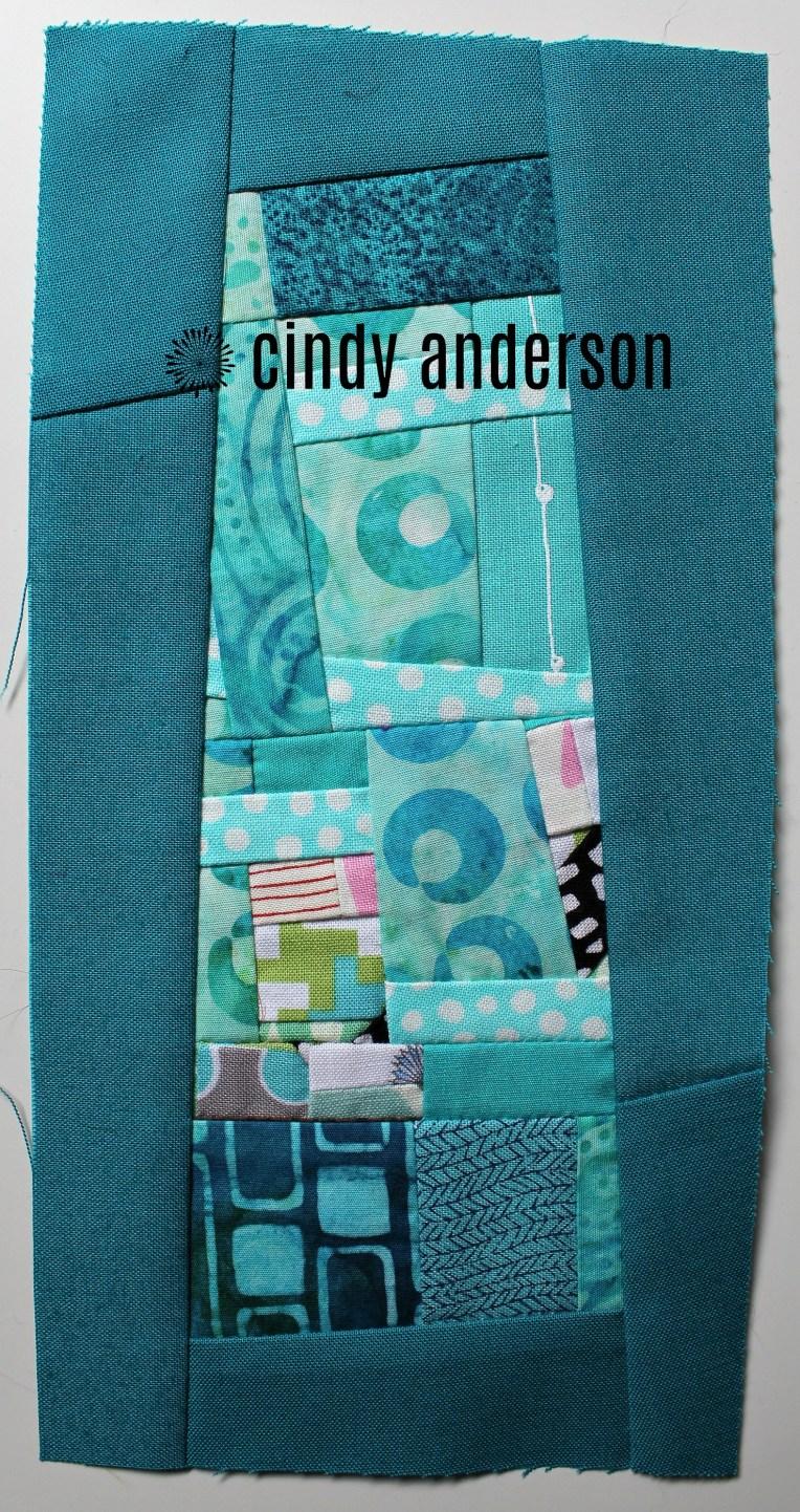 Art Quilt # 28: Buttons