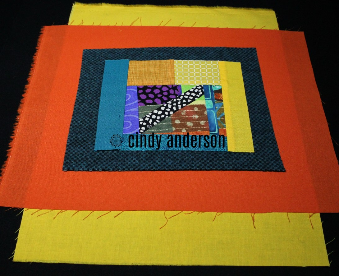 Art Quilt # 24_ Multi-Cultutal with Borders