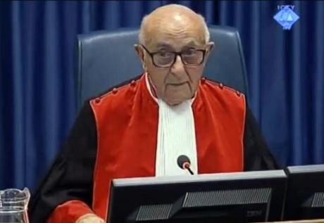 Judge Theodor Meron, President of International Criminal Tribunal for the Former Yugoslavia
