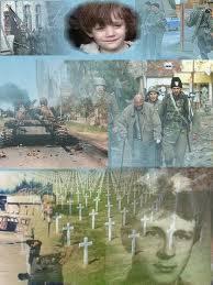 Croatia Vukovar 1991 - a collage of Serb brutality Photo: forum-net.hr