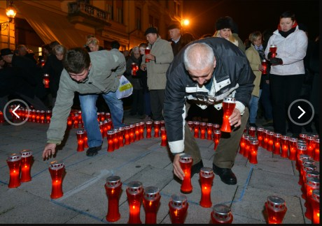 Zagreb remembers Vukovar 2013 Photo: Goran Stanzl/Pixsell