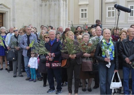 Palm Sunday 2014 Zagreb, Croatia