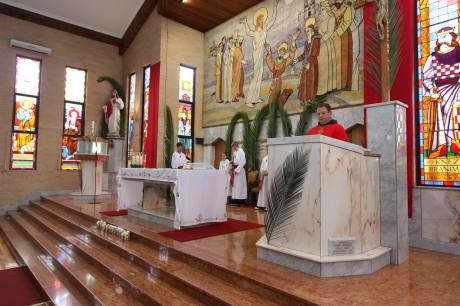 Palm Sunday 2014 - Croatian church Sydney, Australia Photo: Boka Cropress