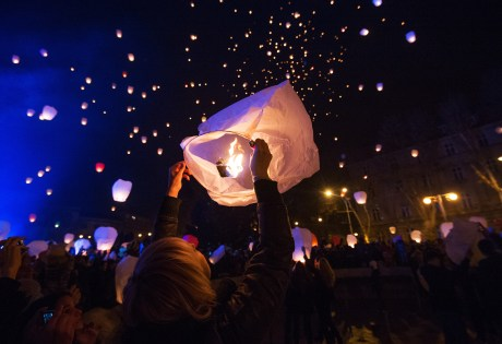 Advent joy in Zagreb Croatia, 2014 The power of good will can change the world for the better! Photo: Marko Drpic/Pixsell