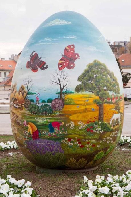 Croatia giant Easter egg 2015