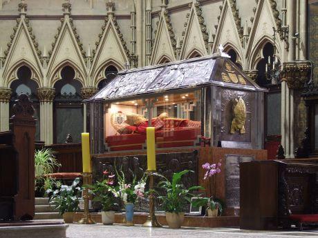 Sarcophagus of Blessed Alojzije Stepinac in Zagreb, Croatia