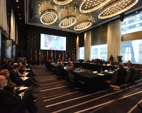 UN, New York, 29 September 2015 First meeting of Adriatic Baltic Black Sea Group hosted by Croatia's President Kolinda Grabar-Kitarovic