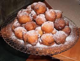 Croatian sultana doughnuts FRITULE or PRIKLE