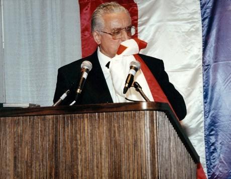 Franjo Tudjman 1990 Photo: tudjman.hr