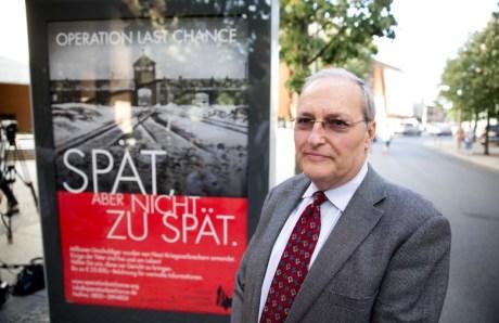 Efraim Zuroff Photo: Jorg Carstensen/DPA