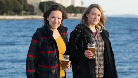 From Left: Ana Teskera and Maja Sepetavec