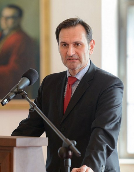 Miro Kovac Croatia's Foreign Minister