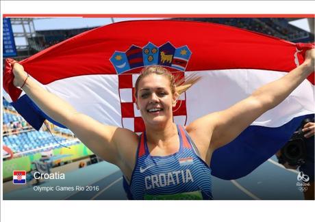 Sandra Perkovic 2016 Olympic Gold