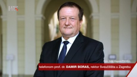 Damir Boras University of Zagreb rector