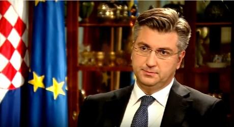 Croatian Prime Minister Andrej Plenkovic Photo: Screenshot hrt.hr 13 January 2017
