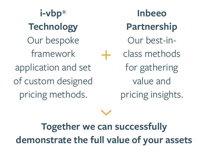 The partnered i-vbp and consulting approach to pricing your assets right