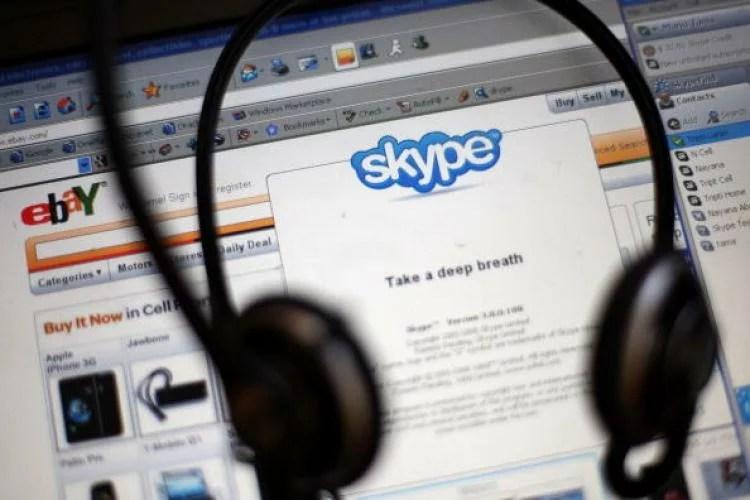 skype kina internet
