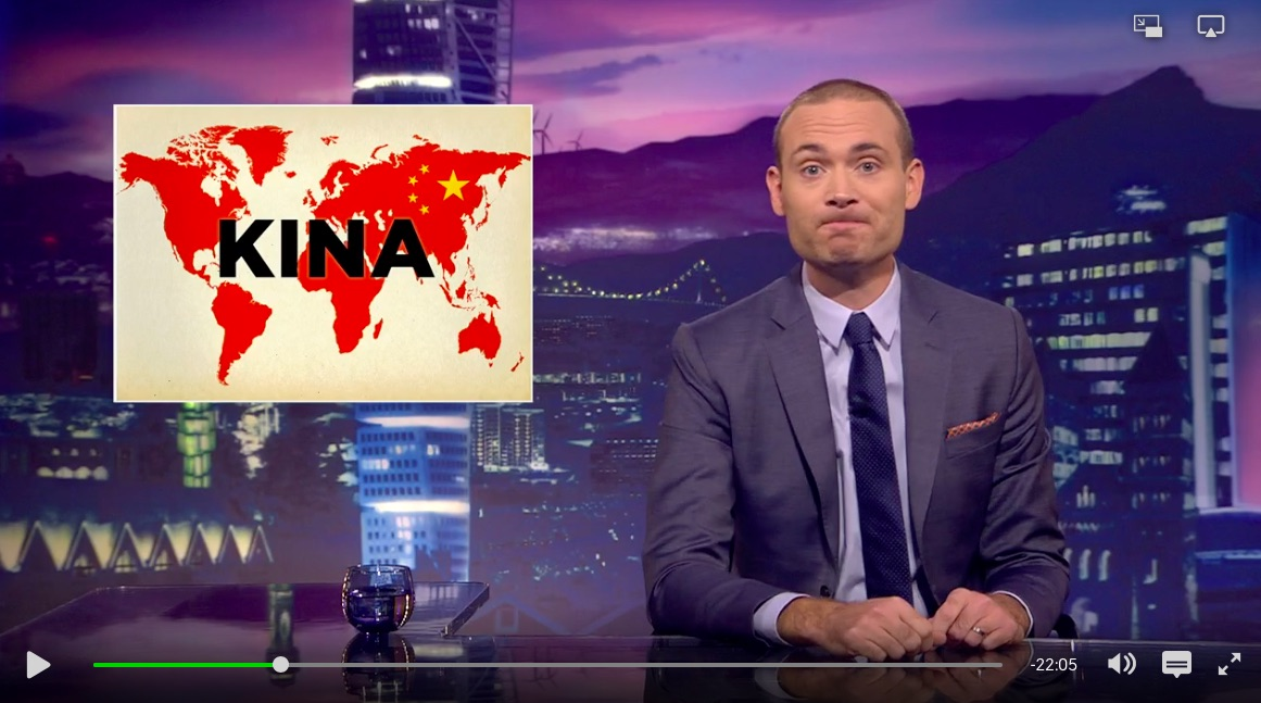 Swedish satire show takes another hit at China