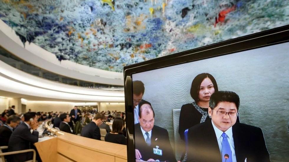 Sverige undviker ta upp Gui Minhai under utfrågning av Kina i FN