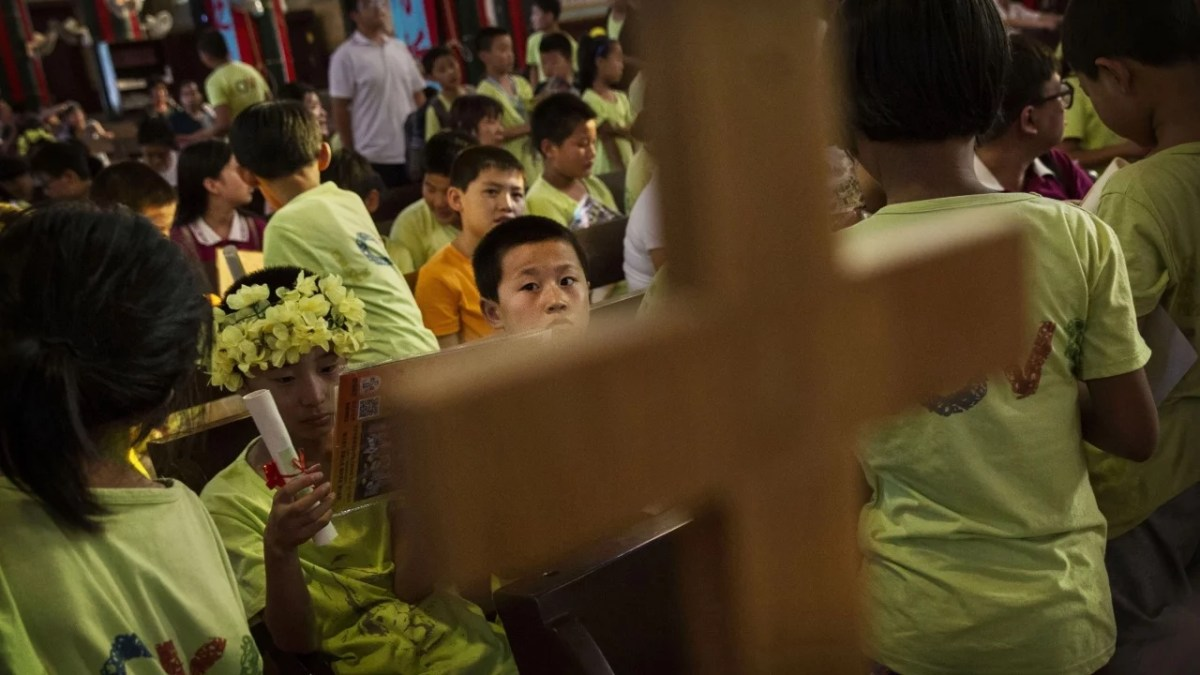 Kinas bortglömda krig mot kristendomen