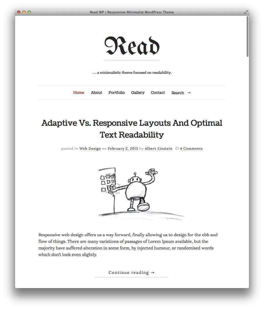минималистские темы WordPress для бизнеса и блогов9