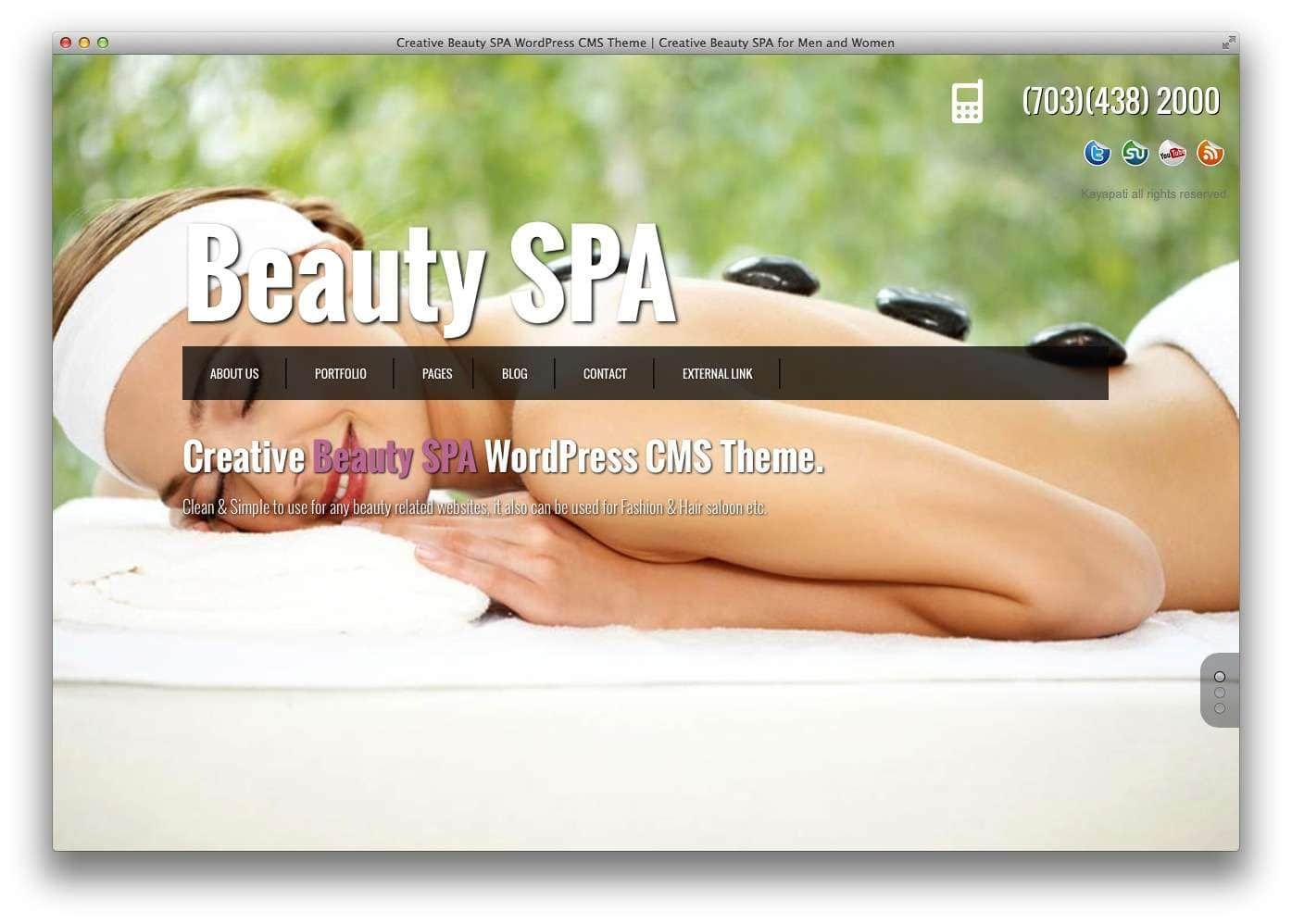 WordPress для салона красоты13