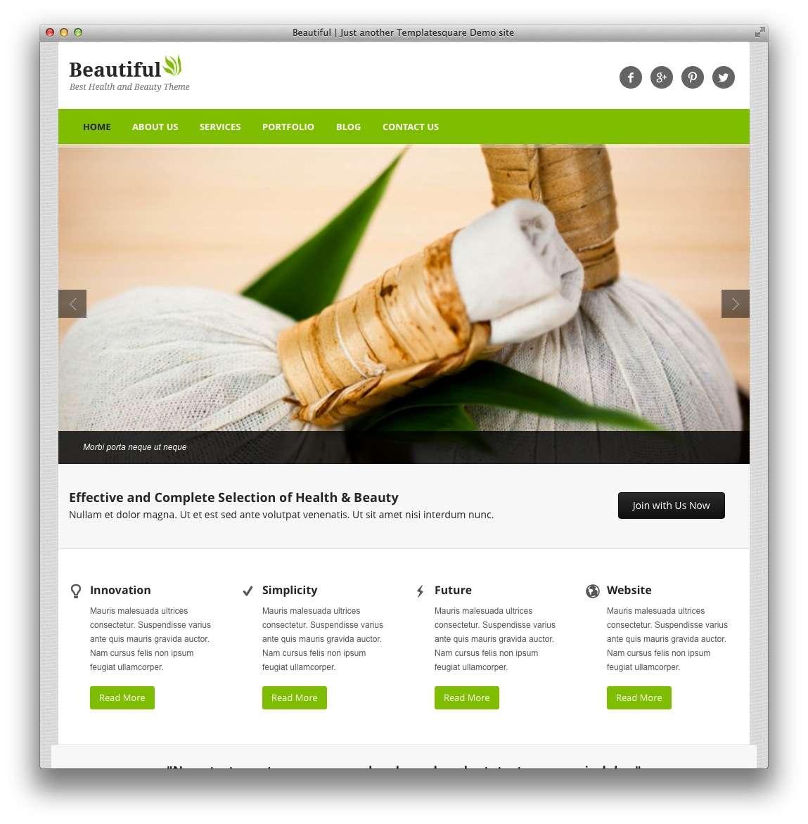 WordPress для салона красоты15